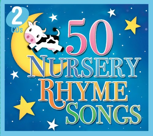 Price comparison product image 50 NURSERY RHYME SONGS (2 CD Set)