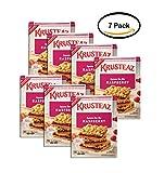 PACK OF 7 - Krusteaz Raspberry Bars Supreme Mix, 19 oz