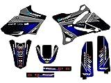 Senge Graphics 2002-2014 Yamaha YZ 85, Surge Black Graphics Kit