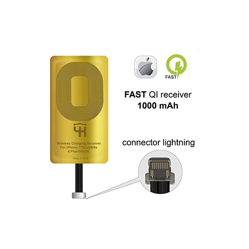 QI Receiver for IPhone 5- 5c- SE- 6- 6 P
