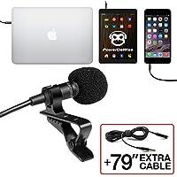 Professional Grade Lavalier Lapel Microphone ...