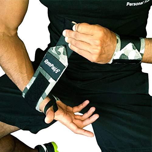 Wrist Wraps Weightlifting - Exclusive Urban Camo Pattern - 17