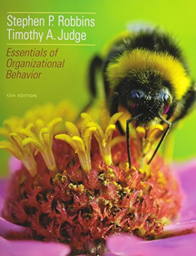 Essentials of Organizational Behavior and Self Assessment Library 3.4