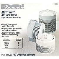 Kenmore 83120 Multi Unit Air Filter for Kenmore 83221, 83231, 83235, 83225, 83251, 83252