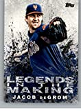 #8: 2018 Topps Legends in the Making #LITM-16 Jacob deGrom New York Mets Baseball Card