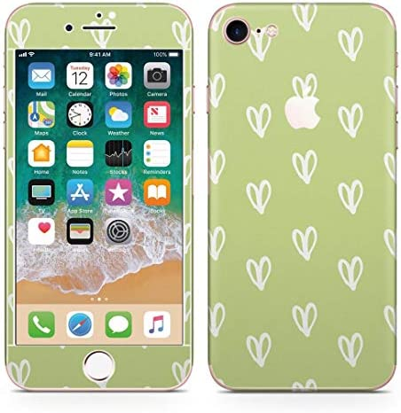 igsticker iPhone8 専用 スキンシール 全面スキンシール フル 背面 側面 正面 液晶 ステッカー 保護シール 050441
