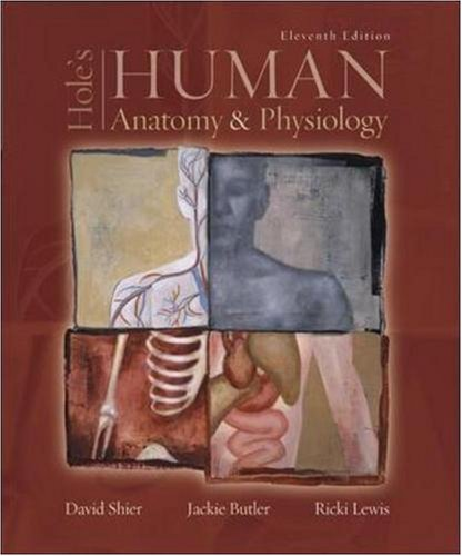 Hole's Human Anatomy & Physiology -  Shier, David, 11th Edition, Hardcover