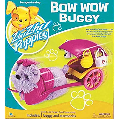 Zhu Zhu Puppies Bow Wow Buggy Puppy Not Included!: Toys & Games [5Bkhe1804002]