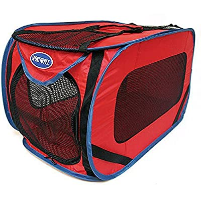 Pop Open Large Dog Kennel, for Pets up to 75 Pounds, colors vary