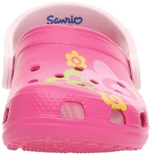 crocs Classic Kids Hello Kitty Flowers (EU) 11641 Mädchen Clogs & Pantoletten Pink/Fuchsia/Bubblegum