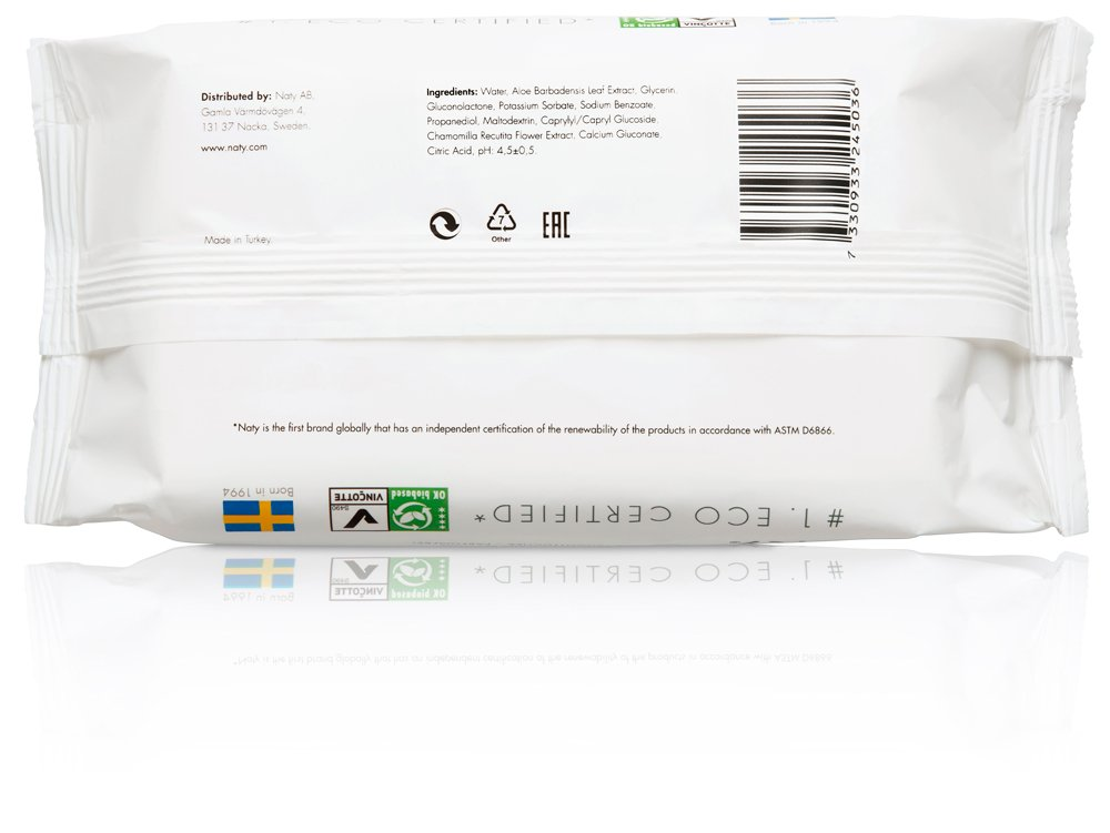 240 Wipes Biodegradable /& Compostable Unscented 12 Pack of 20 Eco by Naty Thick Baby Travel Wipes for Sensitive Skin Hypoallergenic