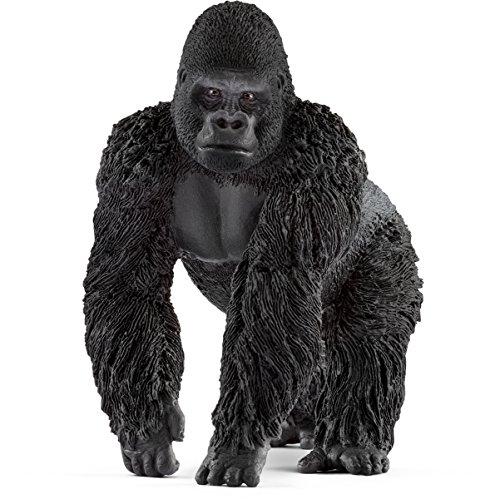 Schleich North America Gorilla, Male Toy (Gorilla Toys)