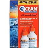 Ocean Saline Nasal Spray, Buddy Pack, 1.5 Ounce & 0.76 Ounce Bottles(Pack of 6)