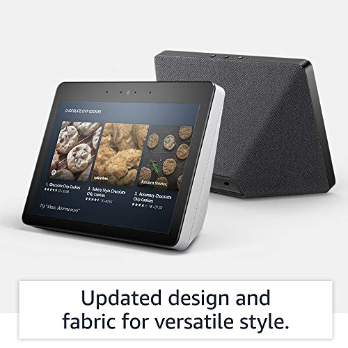"Echo Show (2nd Gen) | Premium 10.1"" HD smart display with Alexa – stay connected with video calling - Charcoal"