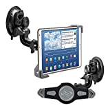 7 inch windows tablet - kwmobile car shield mount for 7-8 Tablet PC - car mount with suction cup in black - e.g. compatible with Apple, Samsung, Lenovo, Asus, Huawei, Amazon, Acer, Microsoft, Sony, LG