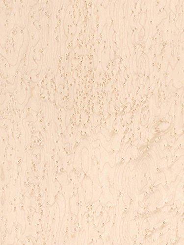 Wood Veneer, Maple, Birdseye Medium, 2 x 8, 10 mil Paper Backer (Birdseye Maple Cabinets)