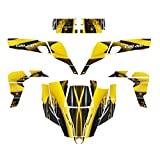 Can Am Commander 800 R Xt 1000 X Xt Graphics Decal Kit By Allmotorgraphics No3333 Yellow