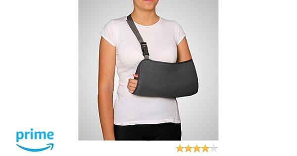 Ortec Soporte Antebrazo Cabestrillo Transpirable (M 35-40cm (desde codo hasta flexión de los dedos)): Amazon.es: Hogar