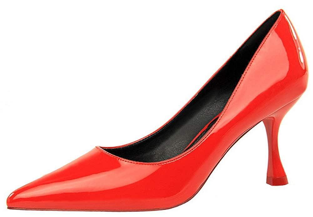 SHOWHOW  Damen Pumps Rot Rot Rot - rot - Größe  36 038f9c