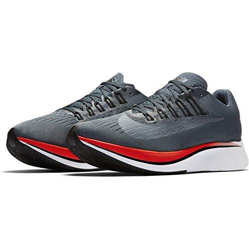 Nike Mænds Zoom Flue Løbesko Blå Ræv / Sort-lyse Crimson LoFa98