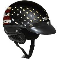 Capacete Kraft Esporte Usa - Preto / M