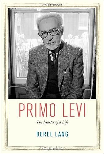 Amazon com: Primo Levi: The Matter of a Life (Jewish Lives