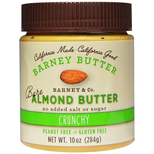 Barney Butter, Bare Almond Butter, Crunchy, 10 oz (284 g) Barney Butter, Bare Almond Butter, Crunchy, 10 oz (284 g) - 2pcs