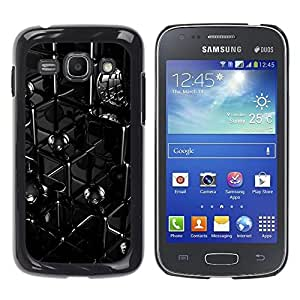 Exotic-Star ( Abstract Lines ) Fundas Cover Cubre Hard Case Cover para Samsung Galaxy Ace 3 III / GT-S7270 / GT-S7275 / GT-S7272