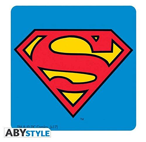 Mini MugSuperman DC Comics Glass 29cl Gift Box Coaster ABYstyle