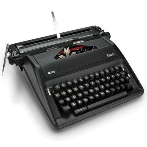 Portable Manual - ADLEPOCH ROYAL EPOCH MANUAL, PORTABLE TYPEWRITER by Generic