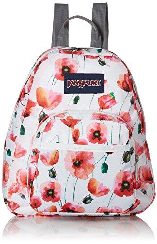 JanSport Unisex Half Pint Multi Cali Poppy Backpack
