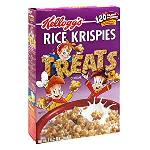 Rice Krispies Treats Rice Cereal, 14.2-Ounce Boxes  (Pack of 4)