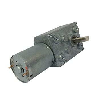 DC 12V Gear Box Motor High Torque Geared Motor Speed Reduction Motor CW//CCW 6RPM