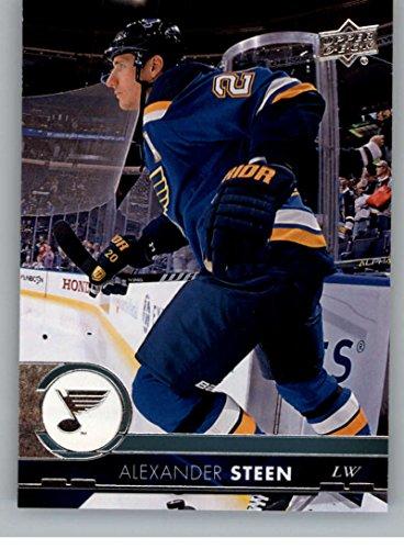 Louis Blues Team Set (2017-18 Upper Deck Series 2 #407 Alexander Steen St. Louis Blues Hockey Card)