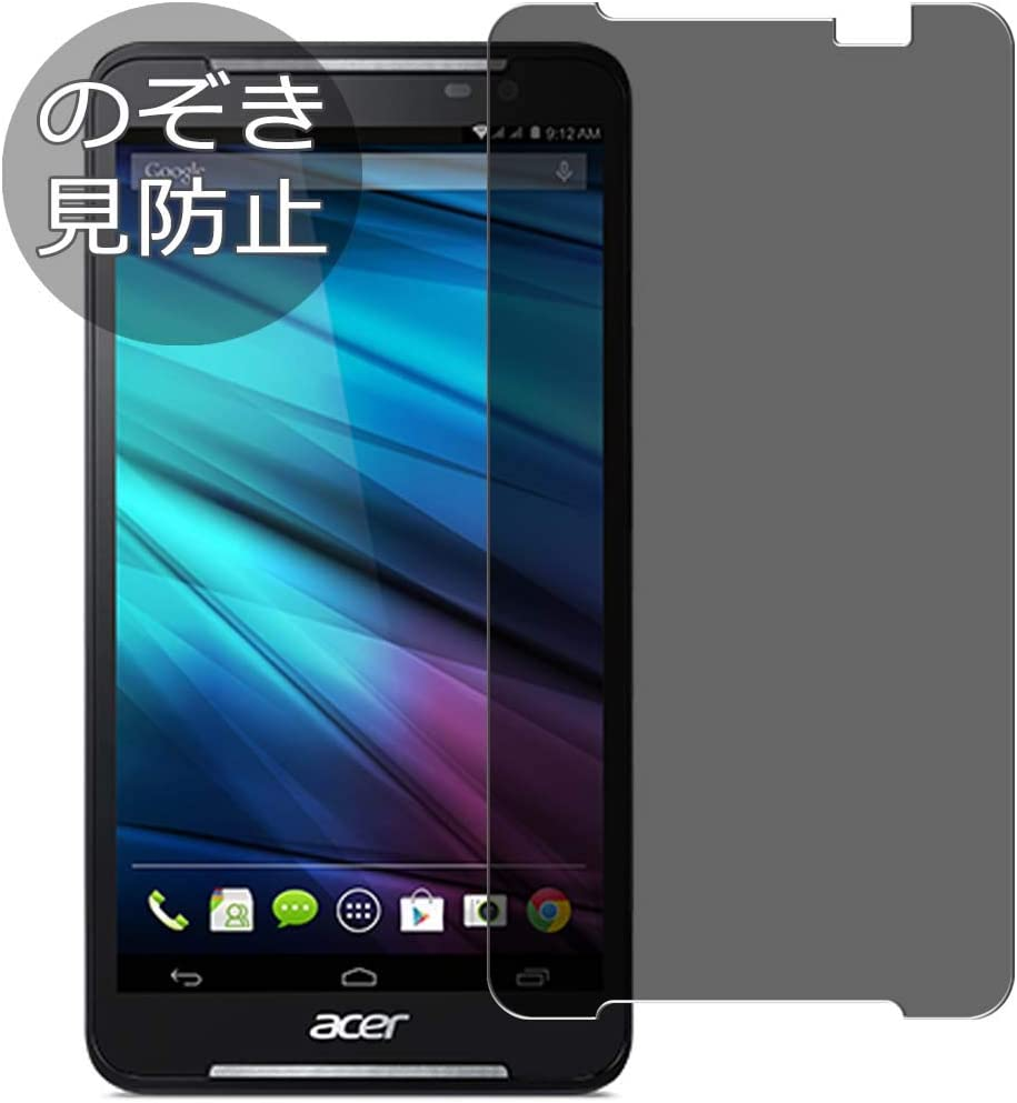 "Synvy Privacy Screen Protector Film for acer iconia Talk S A1-724 7"" 0.14mm Anti Spy Protective Protectors [Not Tempered Glass]"