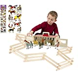 Melissa & Doug Show-Horse Stable and Horse Corral Fence COMBO