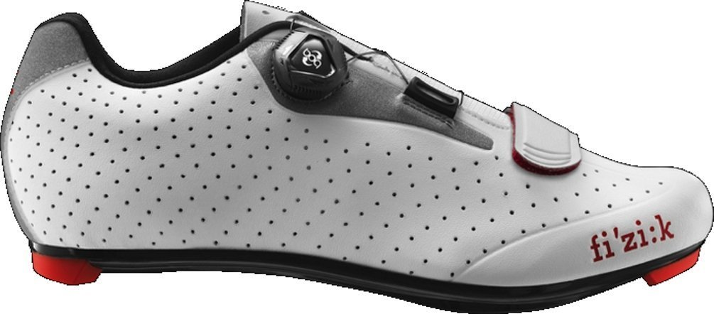 Fi'zi:k R5B Uomo Boa Shoe - Men's White/Light Gray, 43.5
