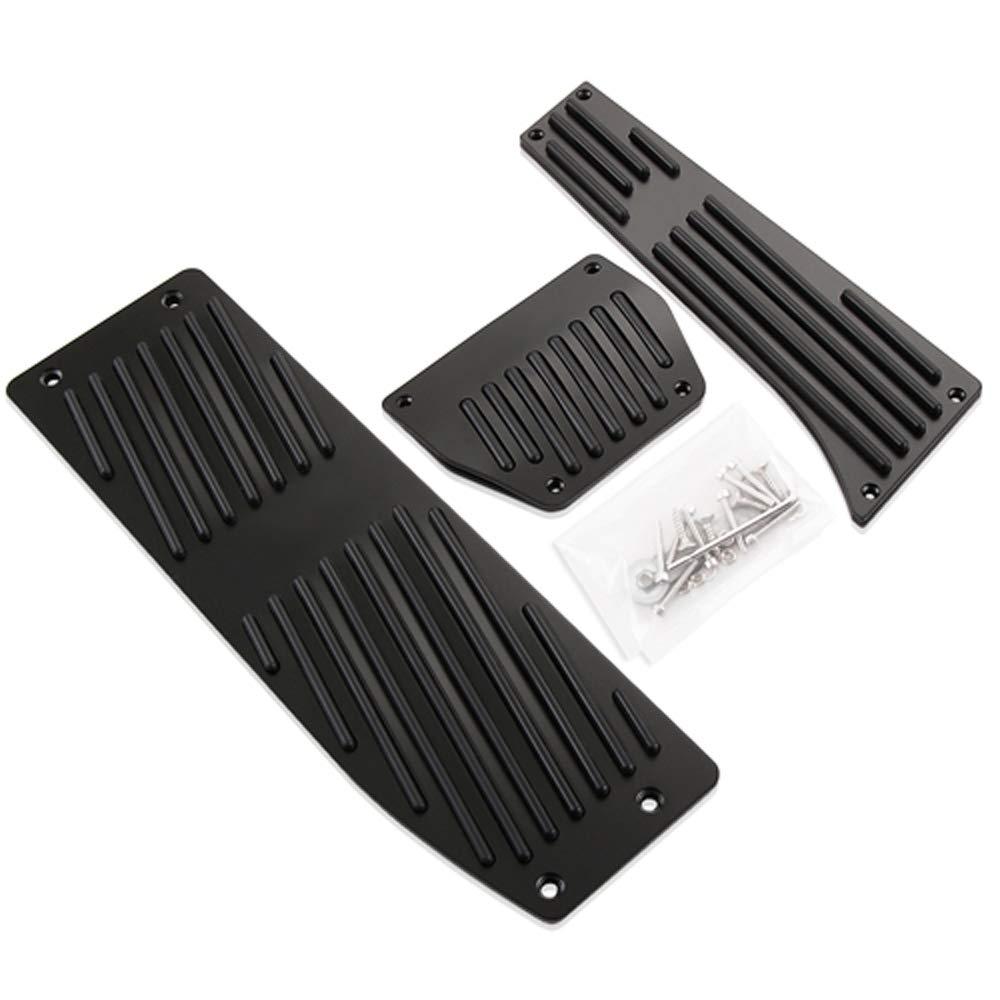Aluminum Alloy Fu/ßst/ütze Pedale For X1 M3 E30 E36 E39 E46 E90 E91 E92 E93 Pedalkappen Styling Gaspedal Accessories sliver MT 4pc