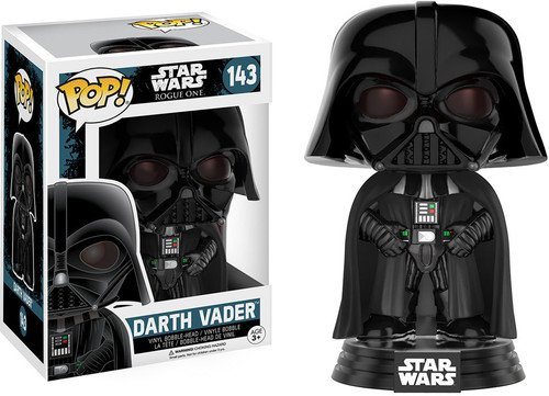 Funko Darth Vader Figura de Vinilo, coleccion de Pop, seria Star Wars Rogue One (10463)