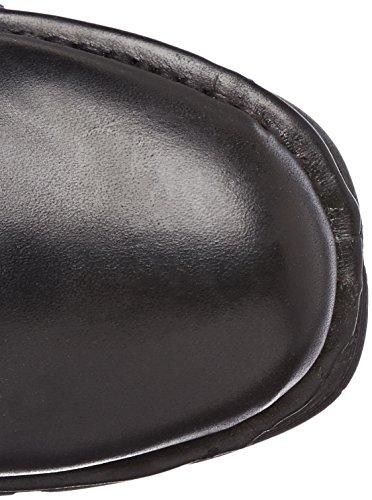 New Rock Unisex Heritage Leather Boots M.373HERITAGE BLACK,BLACK