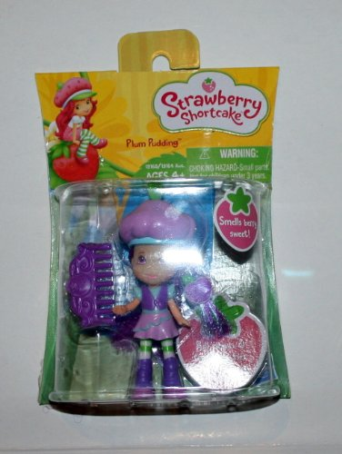 Strawberry Shortcake Plum Pudding Magic Braid Mini Doll, Baby & Kids Zone