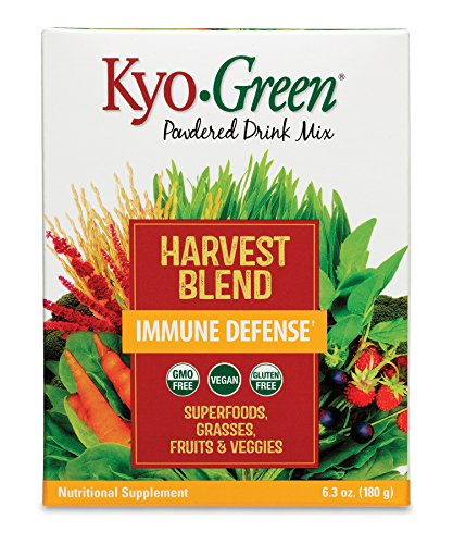 Kyolic Kyo-Green Harvest Blend Superfood Supplement (6-Ounce) Kyo Green Drink