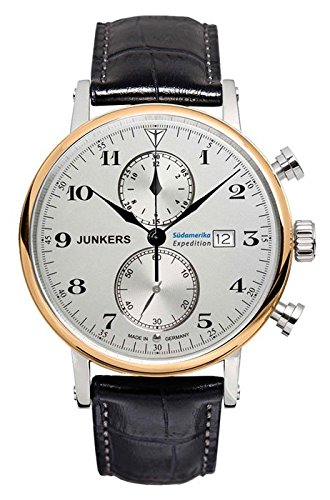 Junkers Südamerika Expedition 6586-5 Mens Chronograph Classic & Simple