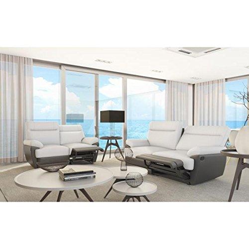 Sky Set Relax Couch Sofa 2 Sitzer Sofa 3 Sitzer Design