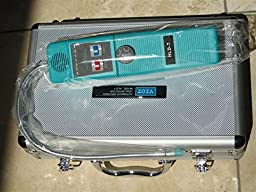 HVAC Field Service Tool:Halogen Refrigerant Leak Detector with Extra Sensor Tip Carrying Case for All Halogenated freons Like R22 R134a R410a R502 R404 R407 etc