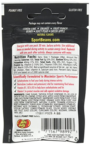 Sport Beans Jelly Beans Assorted Flavors - 24-Pack