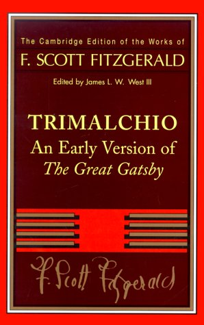 Download Trimalchio: An Early Version of The Great Gatsby PDF