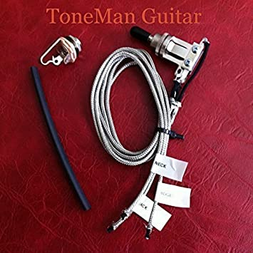amazon com les paul pre wired 3 way wiring switch harness for gibson les paul wiring les paul pre wired 3 way wiring switch harness for gibson les paul style guitars