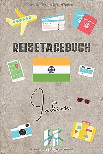 Reisetagebuch Indien Reisetagebuch Mit Packliste Weltkarte