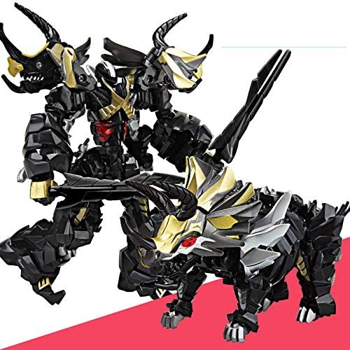Weijiang Transformation Dinobots Dark Snarl Metal Parts Leader Class